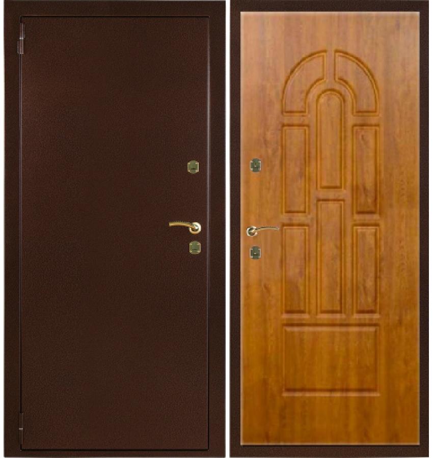 железные двери с завода
