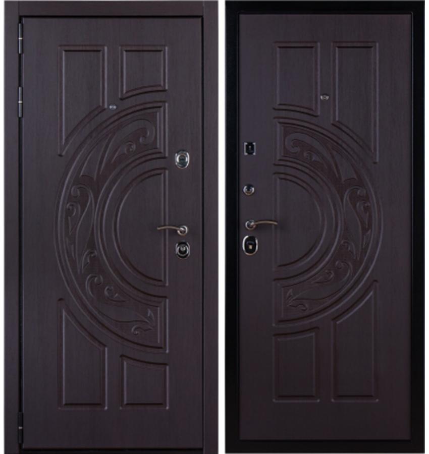 заводскую стальную дверь