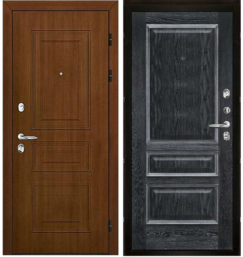 металлические двери проем 100