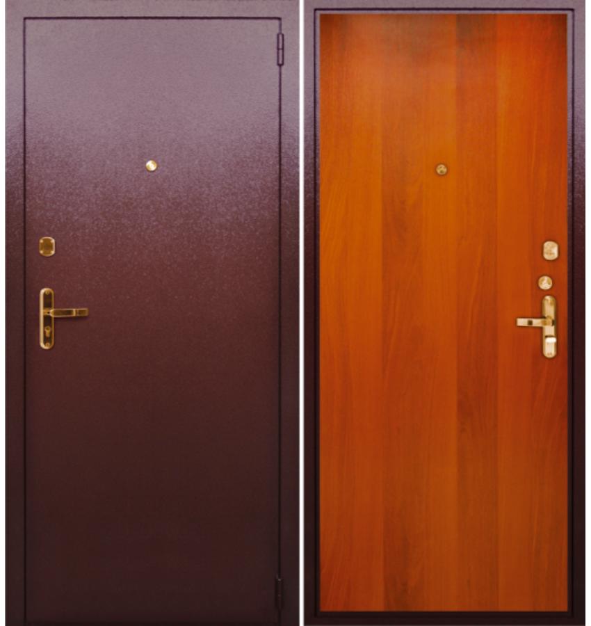 железные двери на магазин